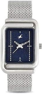 Fastrack Denim Analog Blue Dial Womens Watch 6184SM01