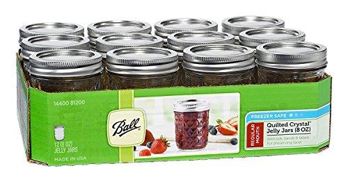 Mason Ball Jelly Jars-8 oz.