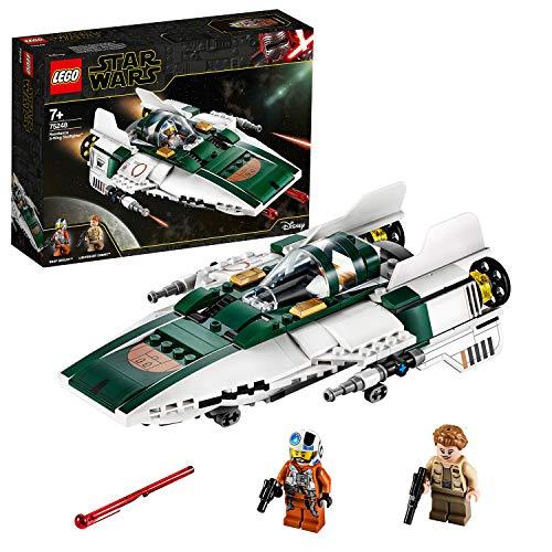 LEGO 75248, Star Wars der Aufstieg Skywalkers Widerstands A-Wing Starfighter, Bauset