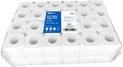 Extra Soft Bathroom Toilet Paper Bulk, 2 ply 400 sheets (48 Pack)