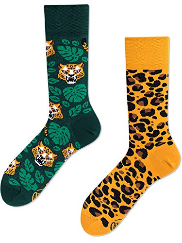 Many Mornings unisex Socken El Leopardo (35-38)