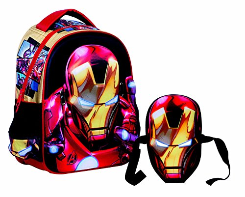 GIM - 337-24054 - Sac à dos - Avengers Iron Man - 27 x 31 x 10 cm - Rouge