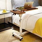 Mesita de noche ajustable con inclinación y altura de inclinación y soporte para ratón, mesa de sofá, cama, mesa de trabajo, mesa de tv, mesa de lectura, mesa de hospital, mesa de hospital