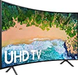 Samsung UN55RU7300FXZA Curved 55 inches 4K UHD 7 Series Smart TV (2019) (Renewed)