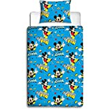 Disney Parure de lit Simple Multicolore Micke Mouse Cool