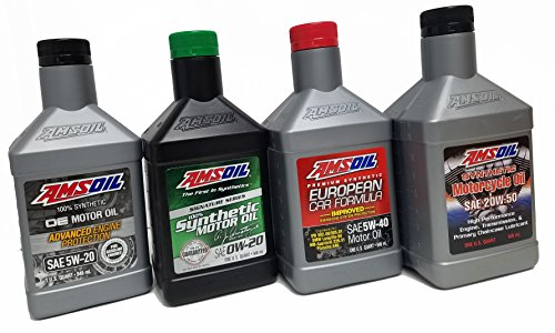 Amsoil 20W50 Synthetic Motorcycle Oil MCVQT-CA