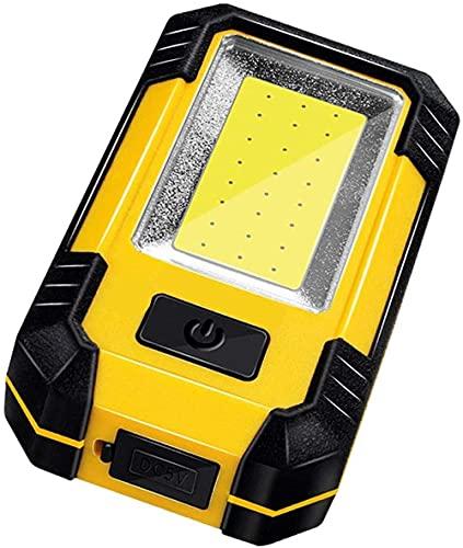 Linterna de emergencia para exteriores, USB portátil, luz de camping, superbrillante, recargable, lámpara de araña LED para campamento