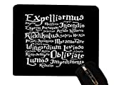 Trendy Accessories Magic Spells Quotes Design Print Image Desktop Office Silicone Mouse Pad