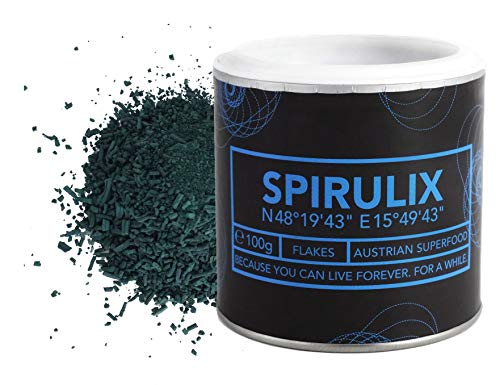 Österreichische Spirulina Flakes – zu 100% in Österreich angebaut – Premium Spirulina-Algen...