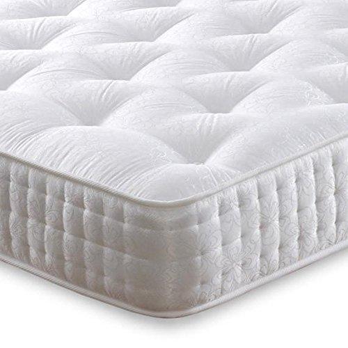 Cheap Beds Direct Giubileo 1000Molle insacchettate Medium/Firm Materasso Matrimoniale 4'6