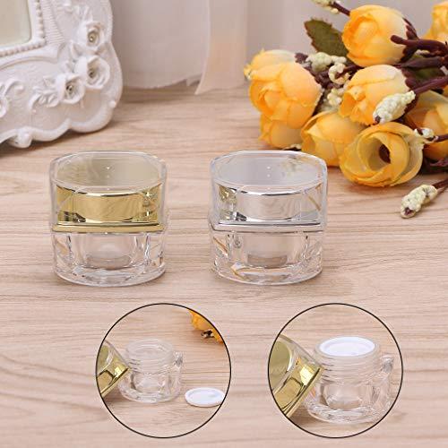 Haptian cosmetische lege pot oogschaduw make-up gezicht crème lip balsem container reisdoos