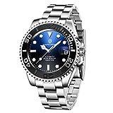 Pagani Design Reloj de Hombre Movimiento Mecánico Automático 100M Impermeable Cristal de Zafiro Sintético Lujo Reloj de Pulsera para Hombres Bisel de Cerámica Casual & Negocio