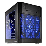 anidees AI7 Black Window Cubo Negro Carcasa de Ordenador - Caja de Ordenador (Cubo, PC, De plástico, Acero, ATX,Mini-ATX,Mini-ITX, Negro, 0,7 mm)