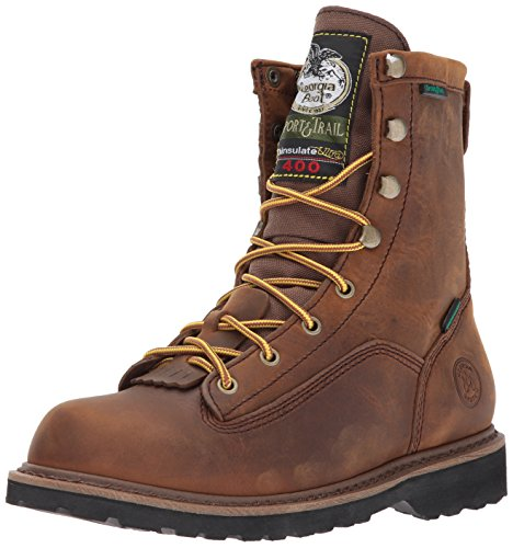 Georgia Boot Baby GR74 Ankle Boot, Soggy Brown, 10 M US Toddler