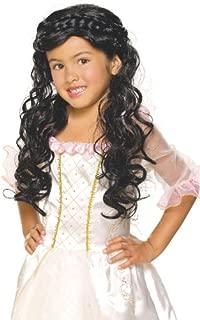Rubie's Enchanted Princess Child's Costume Wig, Black