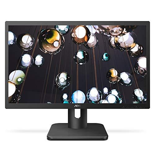 "AOC 27E1H 27"" Full HD 1920x1080 Monitor, IPS Panel, 5ms, FlickerFree, HDMI/VGA, VESA Compatible, EnergyStar"