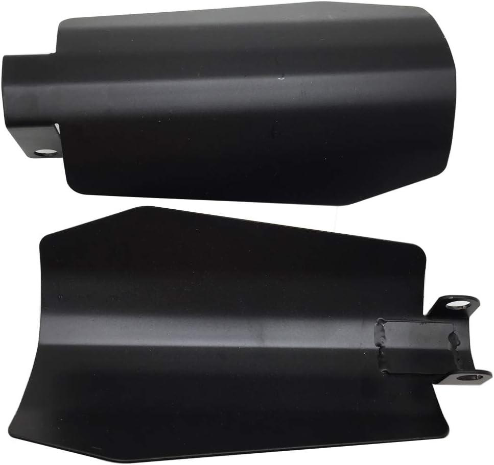 Lubinxun Max 84% gift OFF Gloss Black Hand Guards Coffin Cut Handguards Compatibl