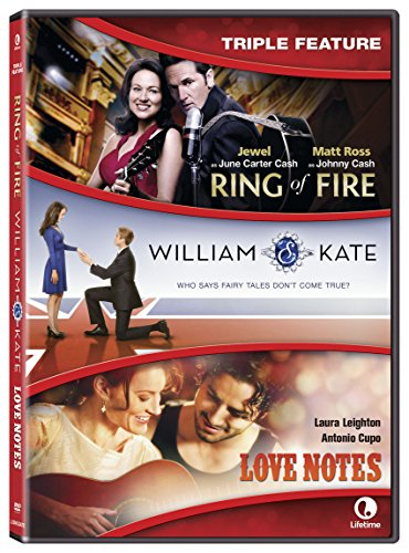 Ring Of Fire/William & Kate/Love Notes Triple Feature [DVD]