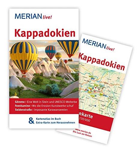Preisvergleich Produktbild MERIAN live! Reiseführer Kappadokien: MERIAN live! - Mit Kartenatlas im Buch und Extra-Karte zum Herausnehmen