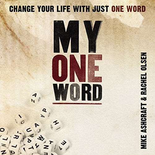 My One Word audiobook cover art