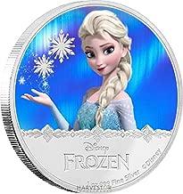 frozen silver coin
