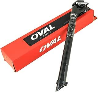 Oval Concepts 950 27.2mm x 350mm x 20mm Carbon Fiber Road Bike Seat Post New