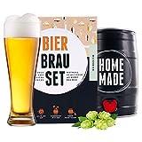Bierbrauset zum selber brauen | Weißbier im 5L Fass | In 7 Tagen gebraut | Tolles...