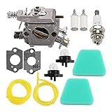 changzhou Juego de carburador, WT-324 WT-891 Carburador + Kit de filtro de aire para motosierra POULAN Craftsman PP210, kit de recortador de setos de gasolina, piezas de repuesto para carburador