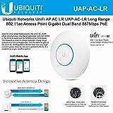 Ubiquiti UniFi UAP-AC-LR Long Range 802.11ac Access Point Gigabit PoE