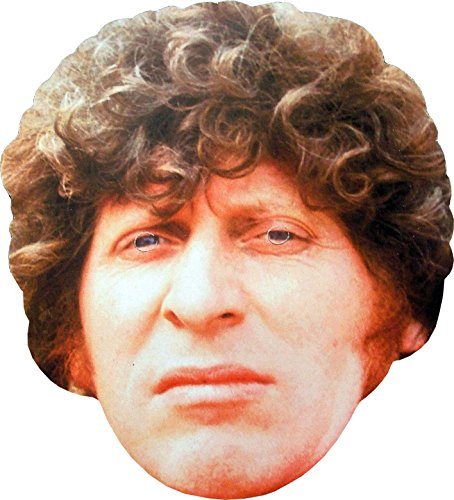 Doctor Who - 4th Doctor - Card Face Mask