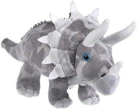 "Triceratops 13"" Animal Den Plush Dinosaur"