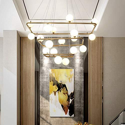 FACAI moderne leichte Luxus Kronleuchter rechteckige Wohnzimmer Esszimmer Lampe