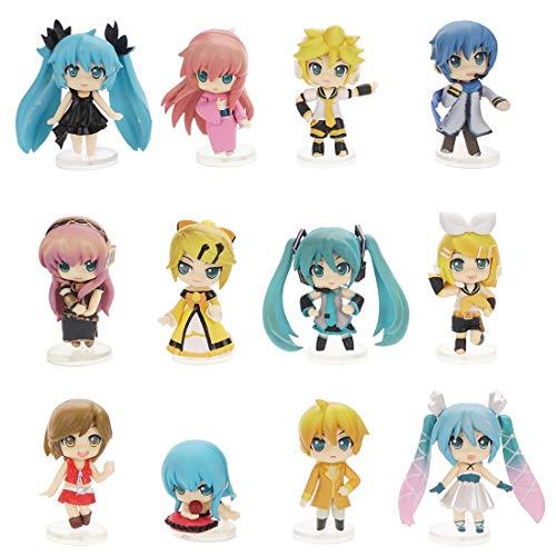 CoolChange Vocaloid 12 Chibi Figur von Miku Hatsune