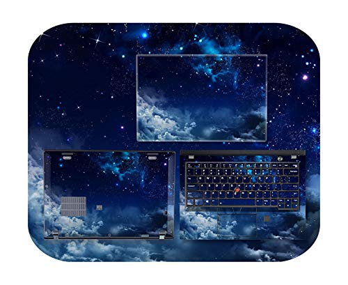 Adhesivo para ordenador portátil, conjunto completo de Skins para Lenovo Thinkpad X1 Carbon 2020, versión X1 Carbon 7ª, 6º 5º 4, adhesivo de piel de colores – Opción 10-X1 Carbon 6Th 2018