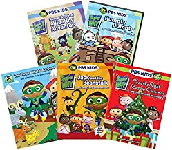Ultimate PBS Super Why 6-DVD Learning Collection: The Three Billy Goats Gruff/Jack & the Beanstalk/'Twas the Night Before Christmas/Hansel & Gretel/Humpty Dumpty/Cinderella [SuperWhy Educational Set]