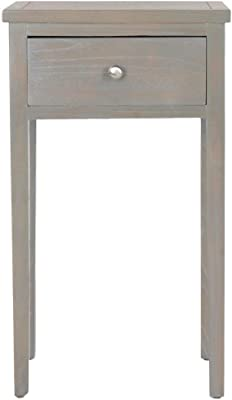 Safavieh American Homes Collection ABEL French Grey End Table