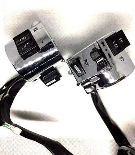 2 x Schaltereinheit rechts & links Schalter ZNEN Nova Roller Motorroller Retro