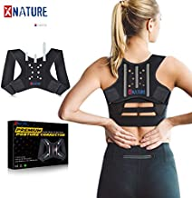XNATURE Posture Corrector for Men and Women,Fibrous bone Reinforcement Posture Corrector/Adjustable Concealed Back Stretcher/Lumbar Support Back Support/Used to Relieve Upper Back Pain