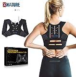 XNATURE Haltungskorrektur 3-Stab-Memory-Rückenlehne mit Faserverstärkung Posture...