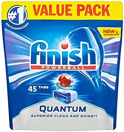 Finish Quantum Tablets Regular 45 per Pack
