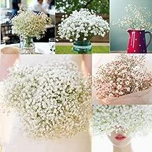 UNAKIM-1 Head Romantic Baby's Breath Gypsophila Silk Flower Party Wedding Home Décor