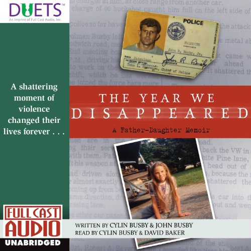 The Year We Disappeared audiobook cover art