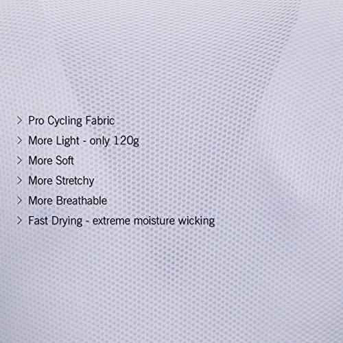 logas Männer Fahrrad-Club Cycling Team Bekleidung Jersey Shirts Kurze Hosen Set Sportbekleidung - 6