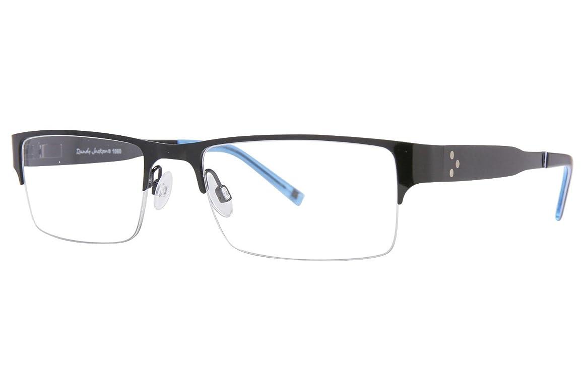 Randy Jackson RJ 1080 Mens Eyeglass Frames - Black