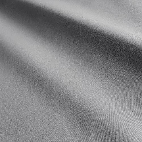 Stoff Meterware gau grey uni einfarbig Outdoorstoff wasserabweisend lichtecht Teflon Dralon Gartentischdecke Kissenbezug Terrassenmöbel