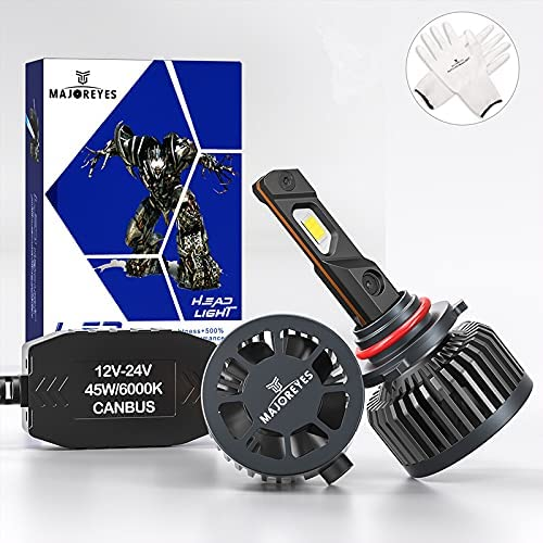 MAJOREYES 9005(HB3) LED latest online shop Headlight Con All-in-One Bulbs