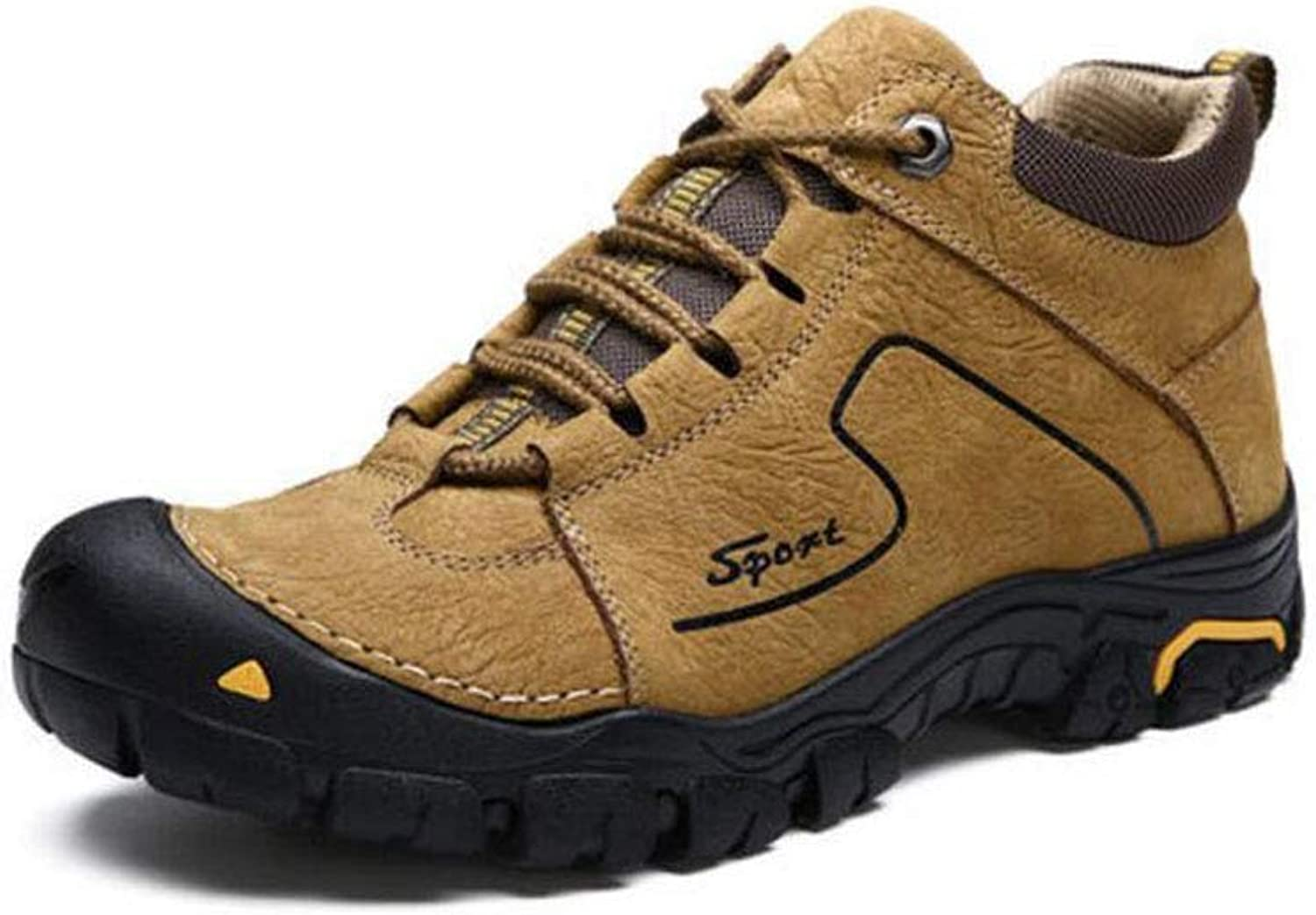 FH Men's Outdoor Hiking shoes Fashion Casual Wear Comfortable Warm Snow Boots