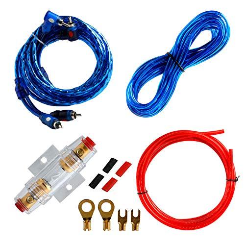 siwetg houder 1500W8GA auto subwoofer versterker Câblage zekering kit Fil kabel Set