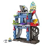 Minions: The Rise of Gru Fisher-Price Imaginext Gadget Lair playset with Minion Otto figure and removable rocket for preschool kids ages 3-8 years
