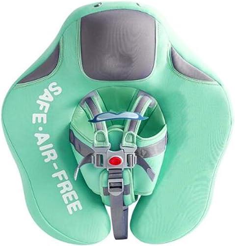 ZKKK Bébé nageant sacue flotter, PVC pour Nourrissons l'eau Formation Toddler Piscine Nager flotter Bien 3 Mois à 2 Ans (Bleu, Rose, Vert)